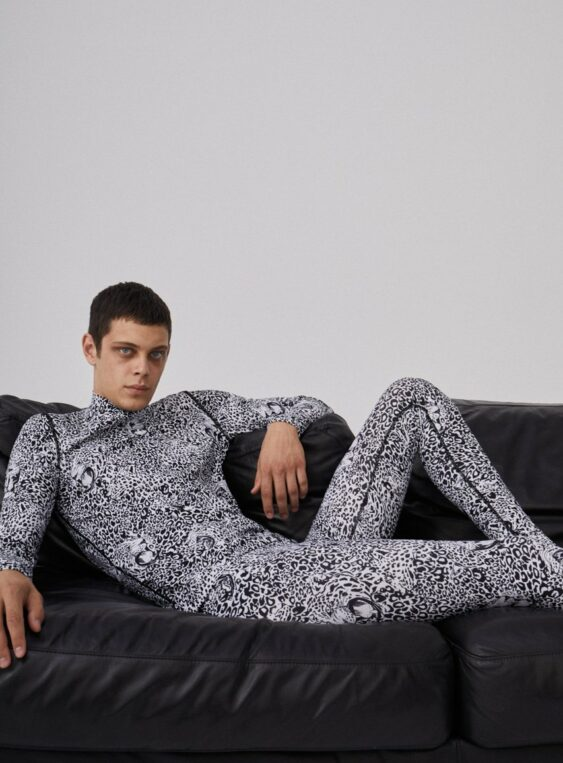 Men's Leopard Printed Leggings