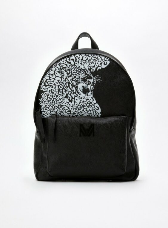 Unisex Leopard Printed Backpack