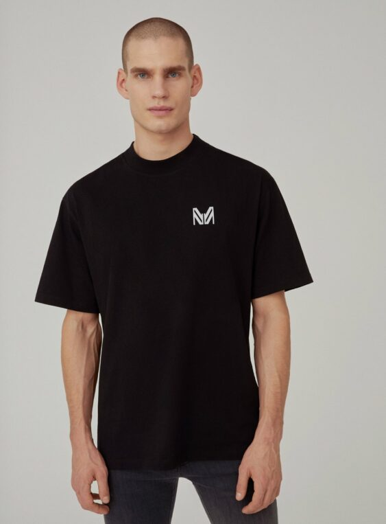 Men's Back Appliqued T-shirt