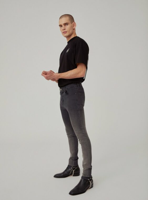 men's denim skinny fit jeans