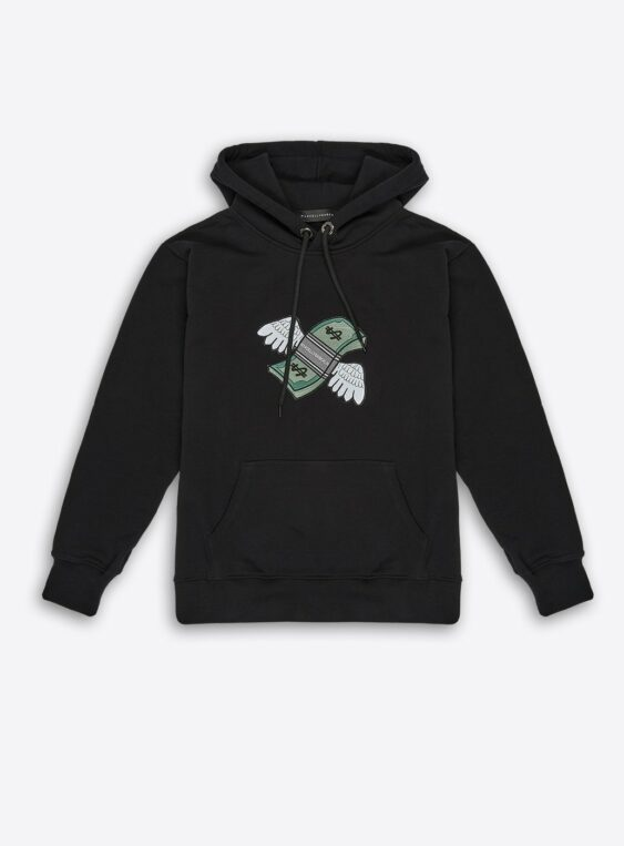 Unisex Fly Money Patch Hoodie
