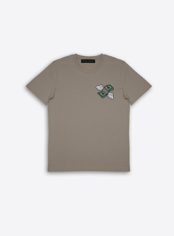 fly money patch t-shirt