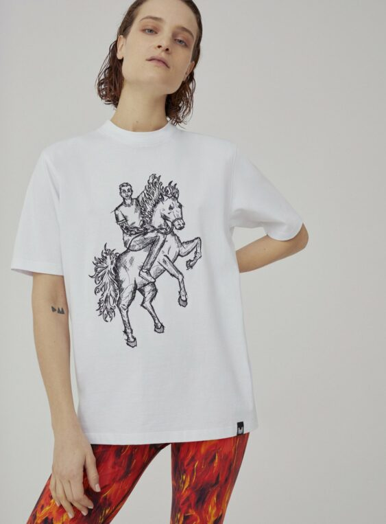 Unisex embroidered tshirt