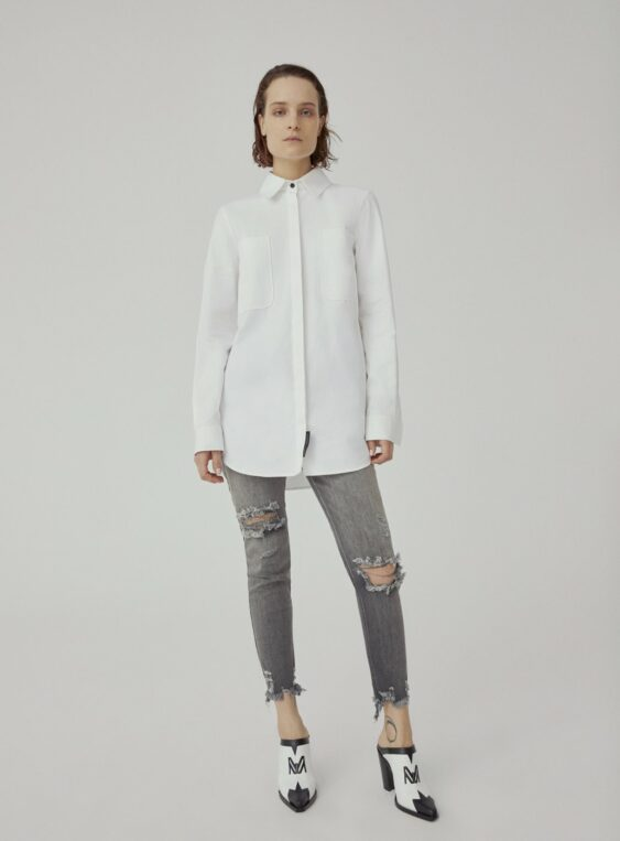 women's oversized shirt